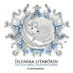Islenska Litabokin  - Hidden in the Jungle - An Anti Stress Colouring Book