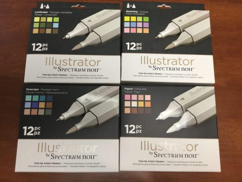 IMG 1576 e1487990092831 1024x768 - Spectrum Noir Illustrator Markers Unboxing
