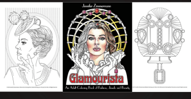 glamourista - Love What You Do - Monthly Coloring Book Giveaway