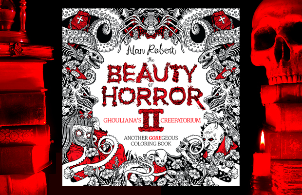 BOH2 620 1 - Cover Reveal & Sneak Peek Inside The Beauty of Horror II by Alan Robert