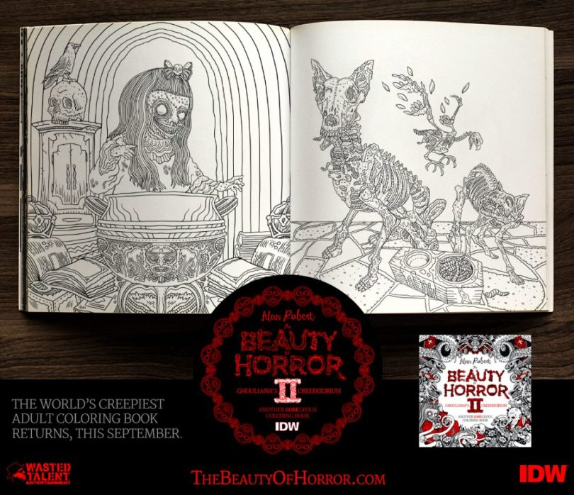 BOH2 Interior Examples E 1024x883 - Cover Reveal & Sneak Peek Inside The Beauty of Horror II by Alan Robert