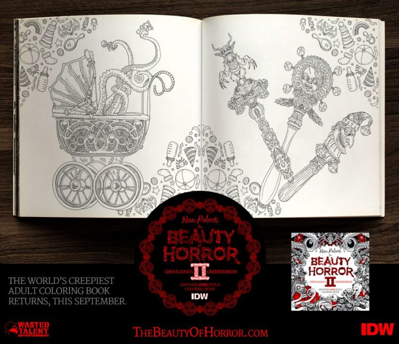 BOH2 Interior Examples D 1024x883 - Cover Reveal & Sneak Peek Inside The Beauty of Horror II by Alan Robert