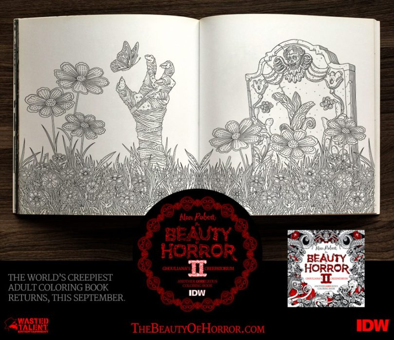 BOH2 Interior Examples A 1024x883 - Cover Reveal & Sneak Peek Inside The Beauty of Horror II by Alan Robert