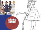 C - Lolita Fashion Coloring Contest & Giveaway