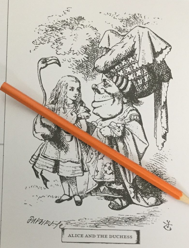classic coloring alice in wonderland coloring book review