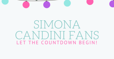 Simona Candini announces coloring book