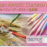 holbein pastel tone pencils - Tombow Irojiten Pencils Review & Tombow Recycled Pencils Review