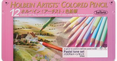 holbein pastel tone pencils - Colleen Colored Pencils - Neon 72 pc