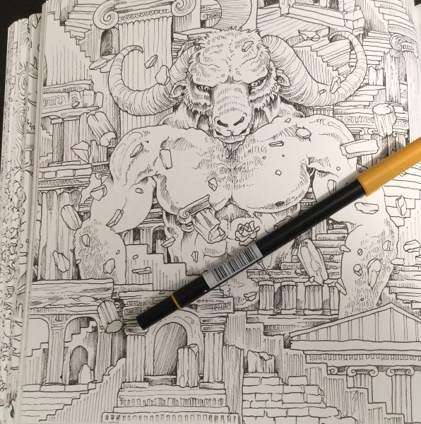 Mythomorphia An Extreme Coloring And Search Challenge Book Review