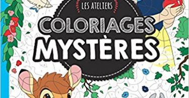 DisneyColoriages - Les ateliers Coloriages Mysteres Coloring Book Review