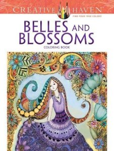 Belles and Blossoms Coloring Book Review