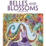 bellesandblossoms - Tangled Treasures Coloring Book  - Adult coloring Book