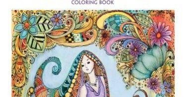 bellesandblossoms - Mucha Coloring Book Review