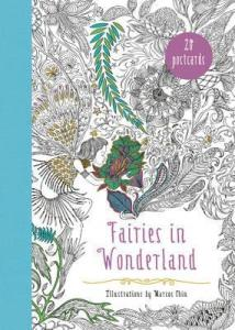 Fairies in Wonderland Coloring Postcards Review