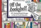 Off the Bookshelf coloring book cover