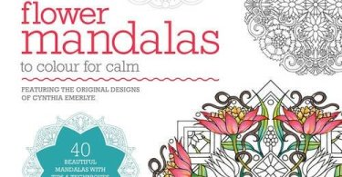 Flower Mandalas Coloring Book cover