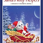 santas kitty helpers coloring book - Creative Kittens - Coloring Book Review
