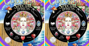 coloring book outro 16 - Colorist's Special Effects Coloring Book Review (Color & Grayscale Edition)