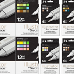 Spectrum Noir Illustrator Markers Review - W H Smith Colouring Pencils (36 pc) Review