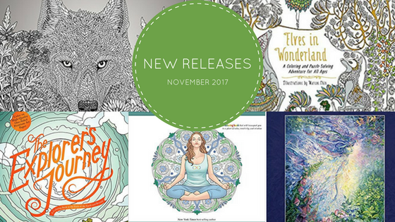 New Releases 1 - Coloring Books - New Releases - November - 2017