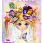 whimsical dreams coloring book - Misfits Coloring Book Review - Volume 1