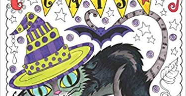 halloween cats coloring book - Midnight Gardens Coloring Book Review