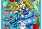 alice in waterland - Alice In Waterland Coloring Book Review