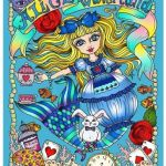 alice in waterland - Posh Coloring Book - Inspirational Quotes:   Adult Coloring Book Review