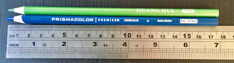 guang hui pencils compared to prismacolor - Guanghui (Hero) Colored Pencil Review (plus comparison with Polychromos)