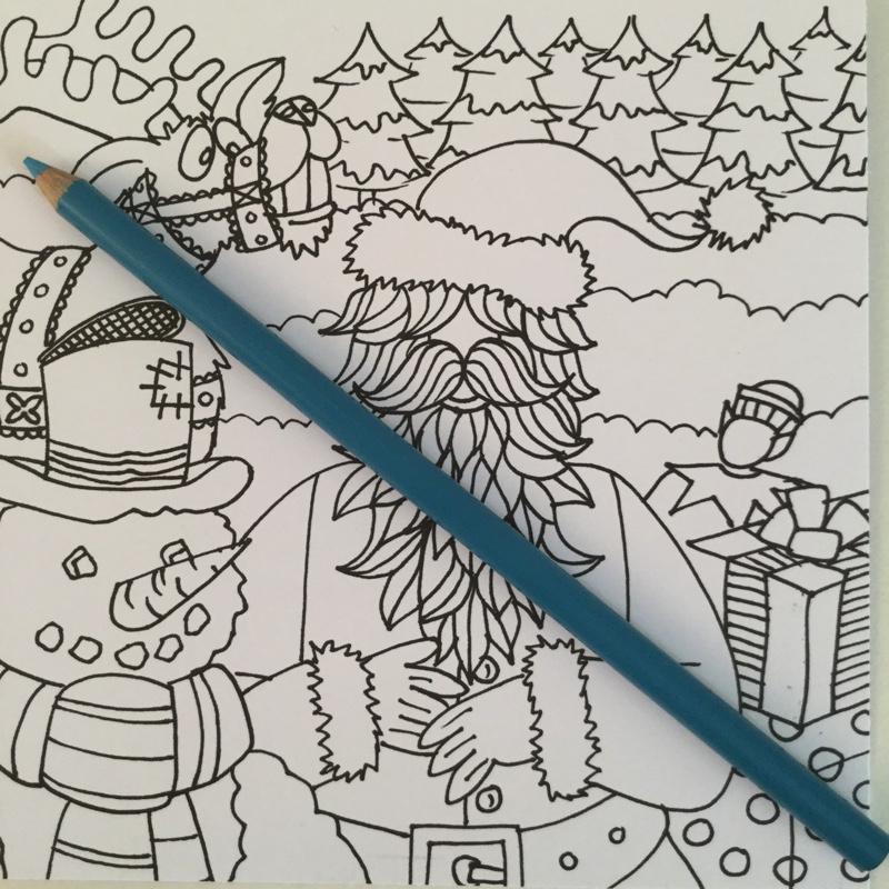 dikke dames coloring cards 4344 - Dikke Dames de einge echte Coloring Cards Review