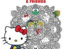 hellokittyandfriends - Hello Kitty and Friends  Coloring Book Review