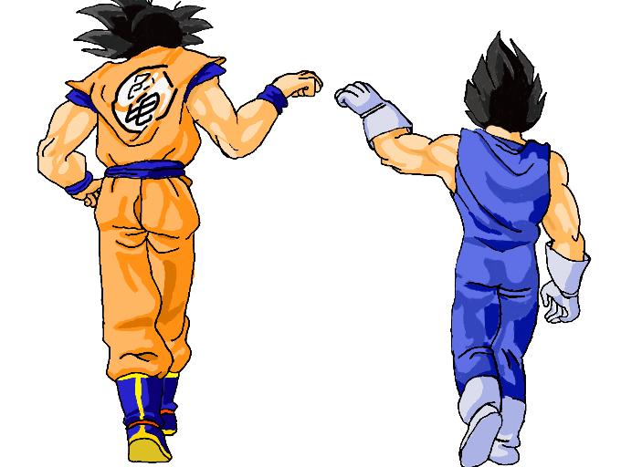 Dbz Iphone X Live Wallpaper Colors Live Goku Und Vegeta By Rai888