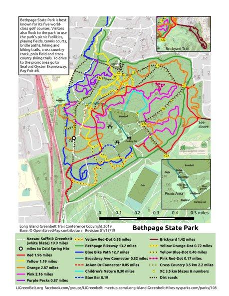 Guide to Hiking the Greenbelt Trail System   LongIsland.com