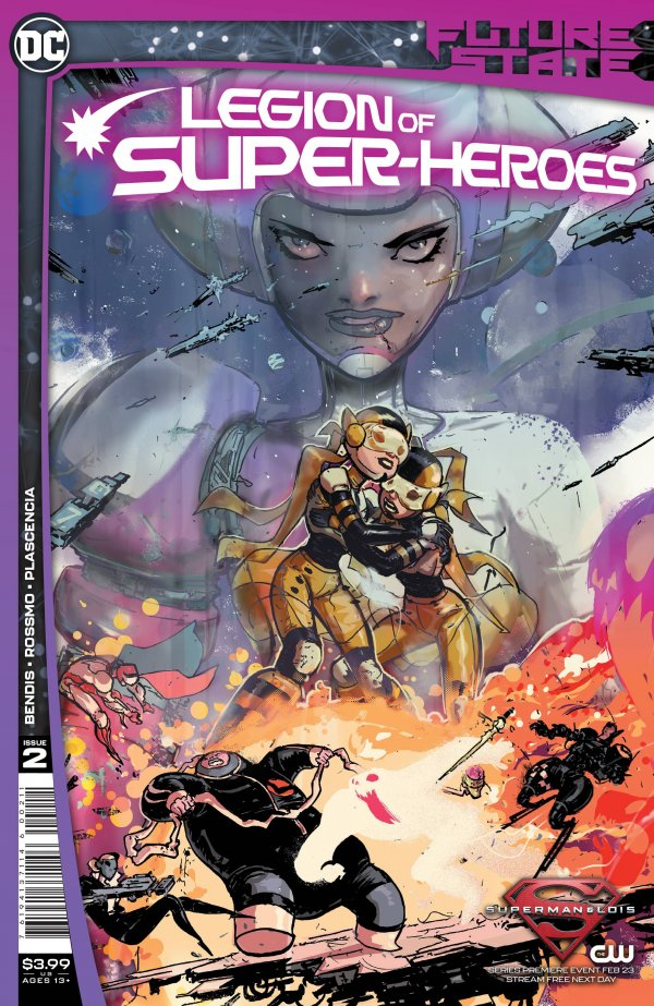 Future State: Legion of Super-Heroes #2 Review | The Aspiring Kryptonian