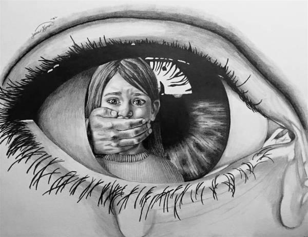 Love Pencil Drawing Eyes