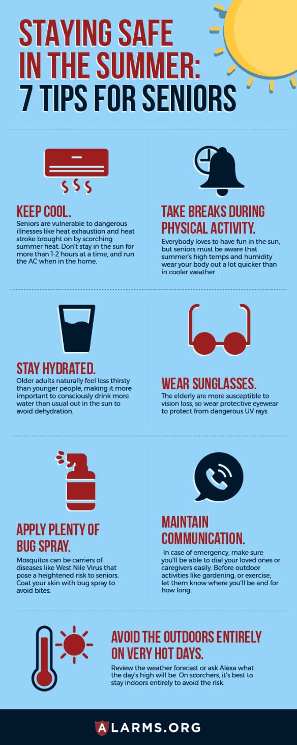 Infographic: Senior Safety Summer