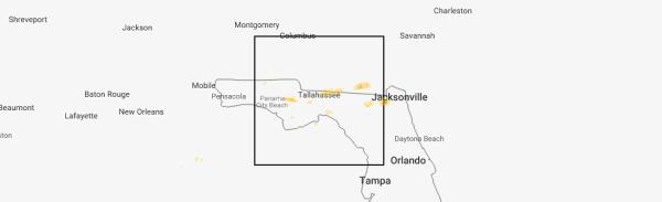 Interactive Hail Maps Hail Map for Blountstown FL