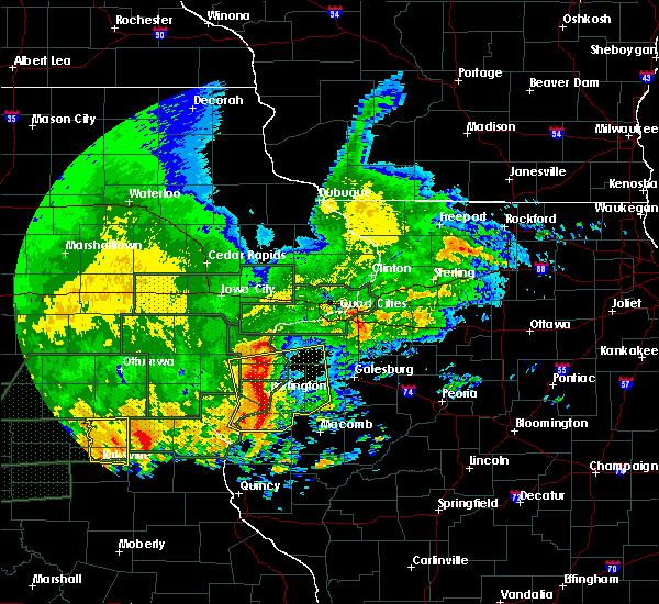 Interactive Hail Maps Hail Map for West Burlington IA