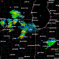 Radar Image for Severe Thunderstorms near Joliet, IL at 5/23/2020 2:27 PM CDT