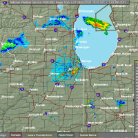 Radar Image for Severe Thunderstorms near Joliet, IL at 6/22/2020 1:06 PM CDT