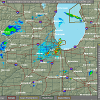 Radar Image for Severe Thunderstorms near Joliet, IL at 6/22/2020 1:31 PM CDT