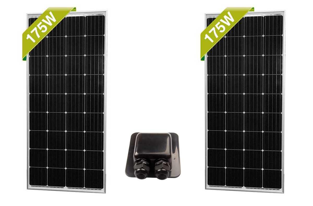hight resolution of solar panels