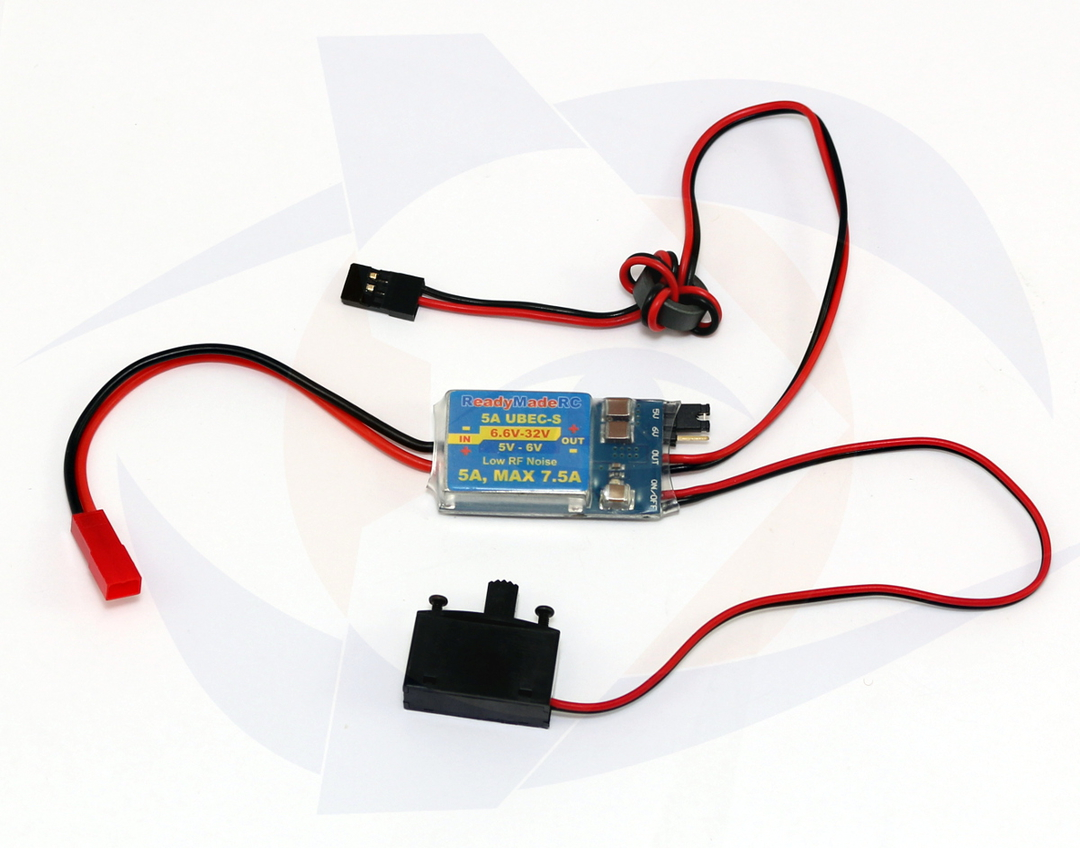hight resolution of rmrc 5a power regulator 5 to 6 volt ubec with switch