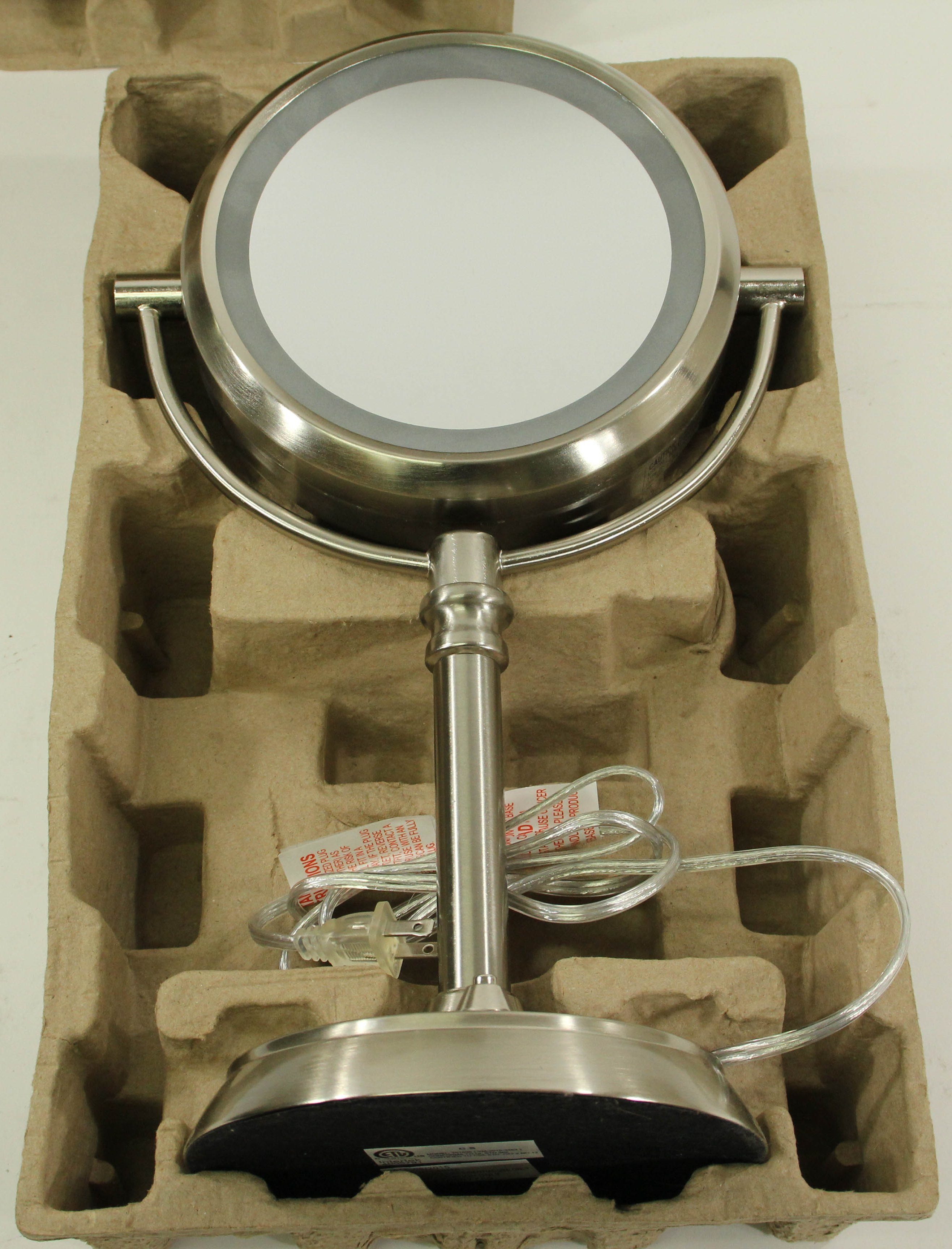 Sunter Natural Daylight Dual Lighted 1x - 10x Magnification Vanity Mirror