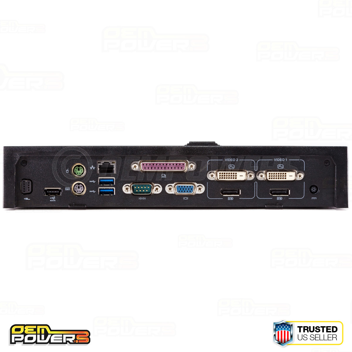 dell e port plus usb 3 0 docking station port replicator with pa 4e ac power adapter [ 1200 x 1200 Pixel ]