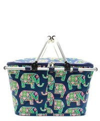 "15"" Large Picnic Basket Collapsible Insulated Thermal ..."