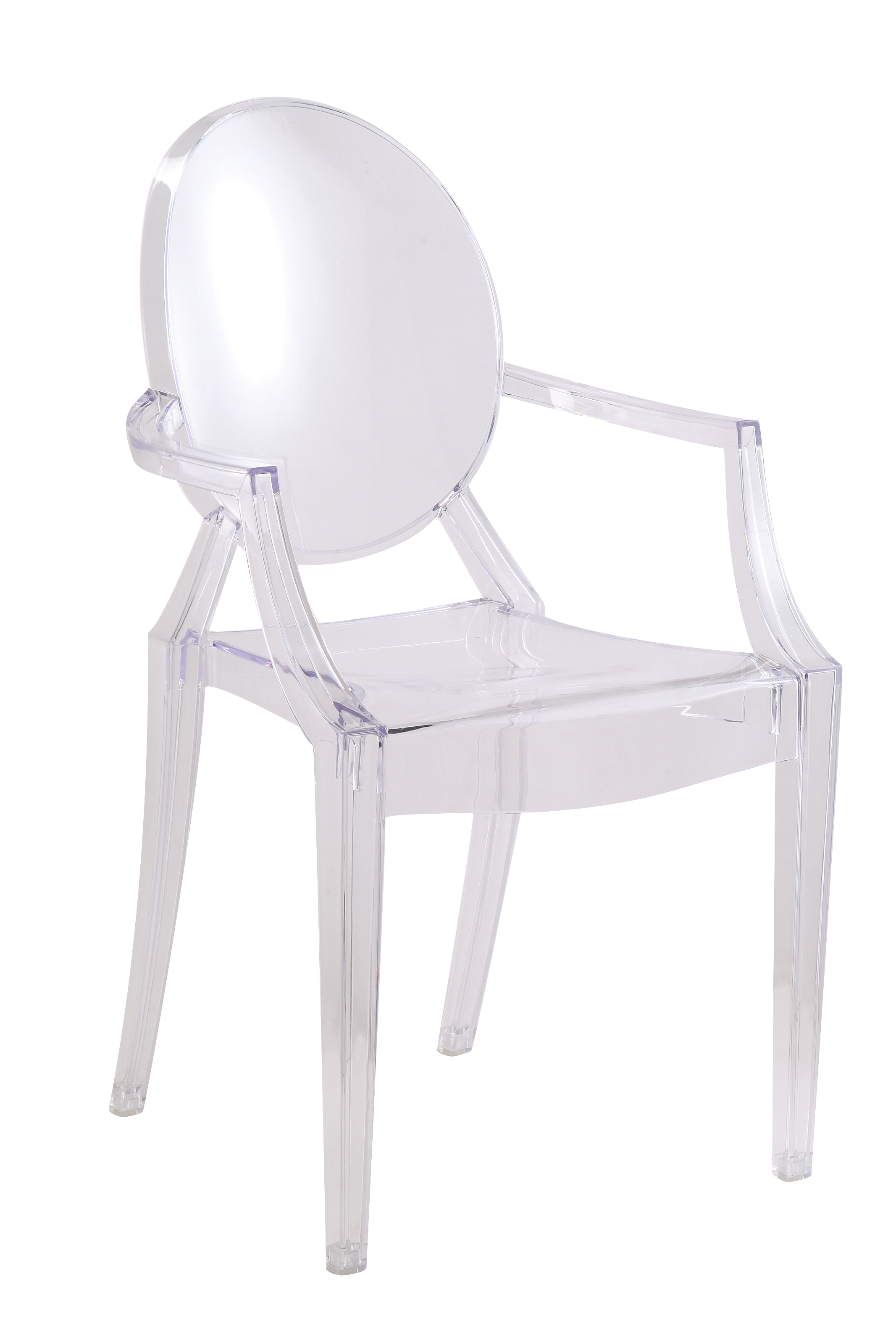 Clear Acrylic Chair Clear Louis Style Acrylic Arm Chair Clear Ebay