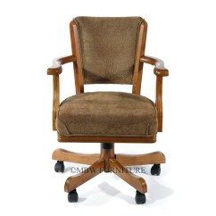 Swivel Chair Mechanism Suppliers Office Price Philippines Pair Of 2 Oak Game Chairs W Casters Ebay