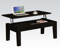 Black Modern Lift-Top Coffee Table | eBay