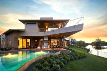 Luxury Homes Beautiful Modern Mansion